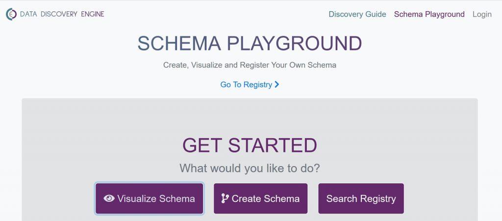 schema playground screenshot